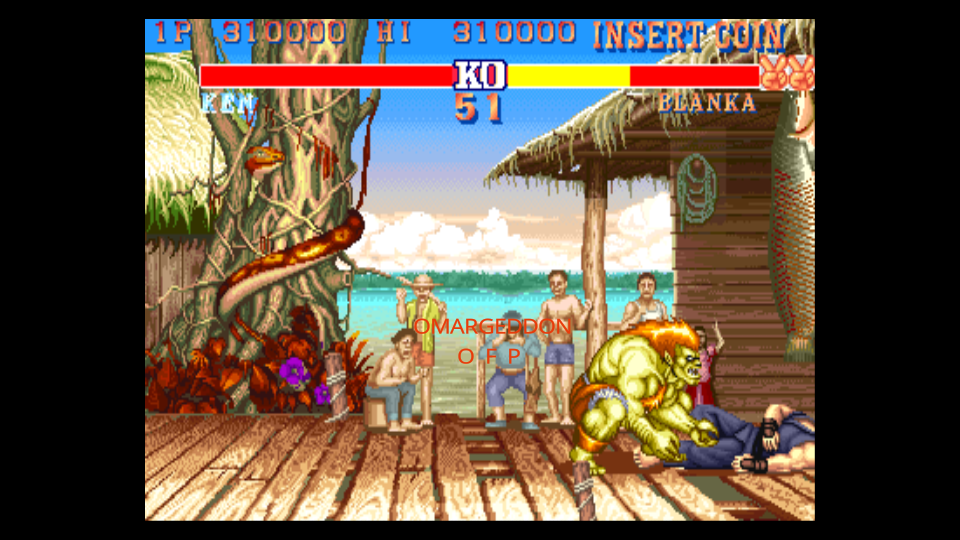 omargeddon: Street Fighter II: Champion Edition [Difficulty 4] [sf2ce] (Arcade Emulated / M.A.M.E.) 310,000 points on 2017-01-06 10:58:03
