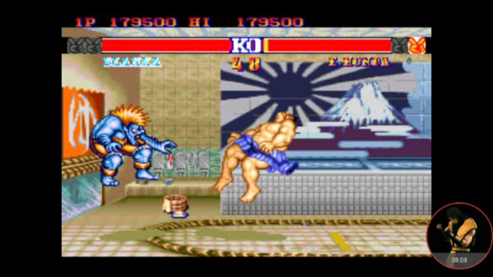 Street Fighter II Champion Edition [Difficulty 8] 179,500 points