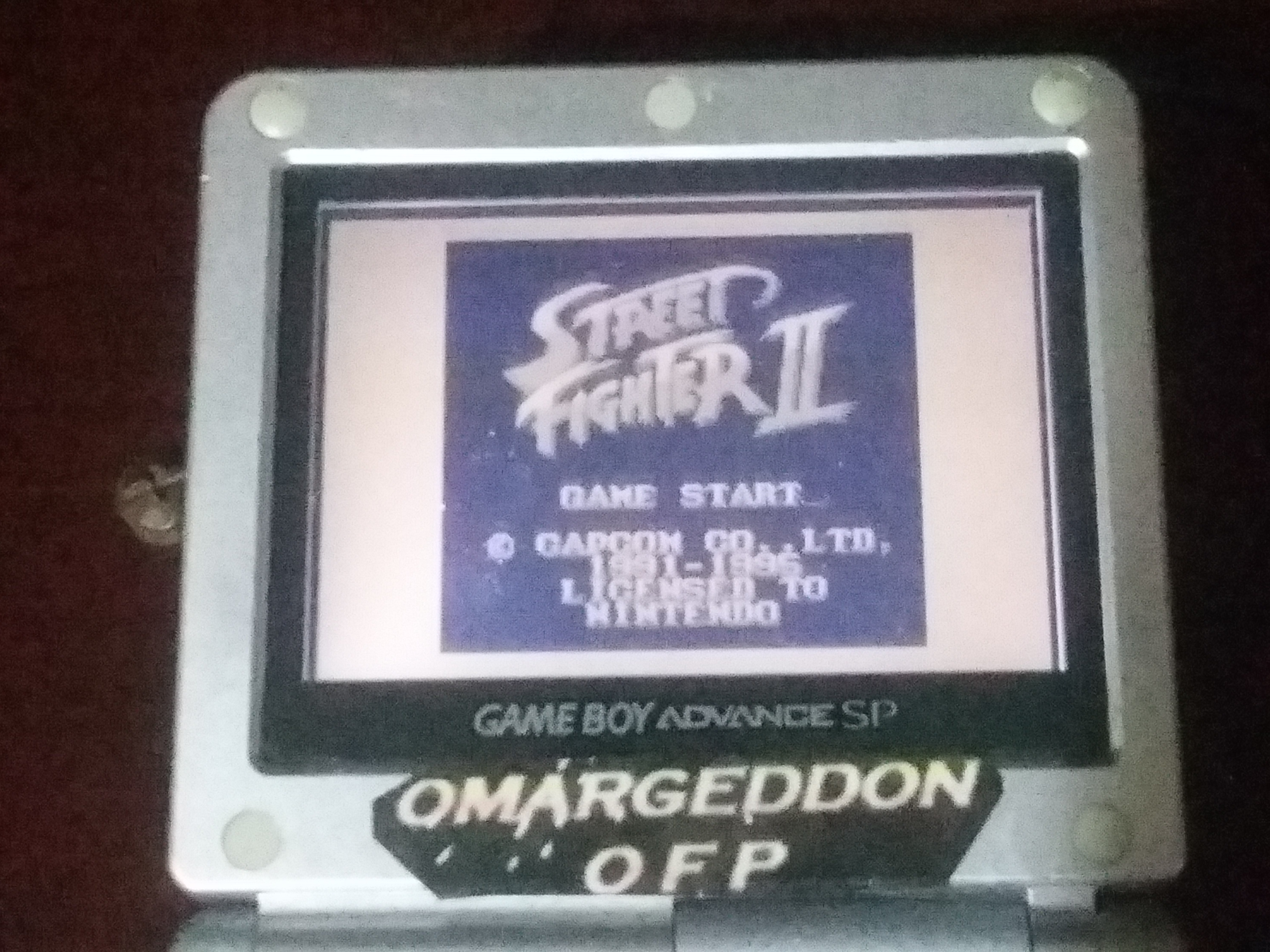 omargeddon: Street Fighter II [Game Level 1] (Game Boy) 720,300 points on 2018-01-03 22:04:54