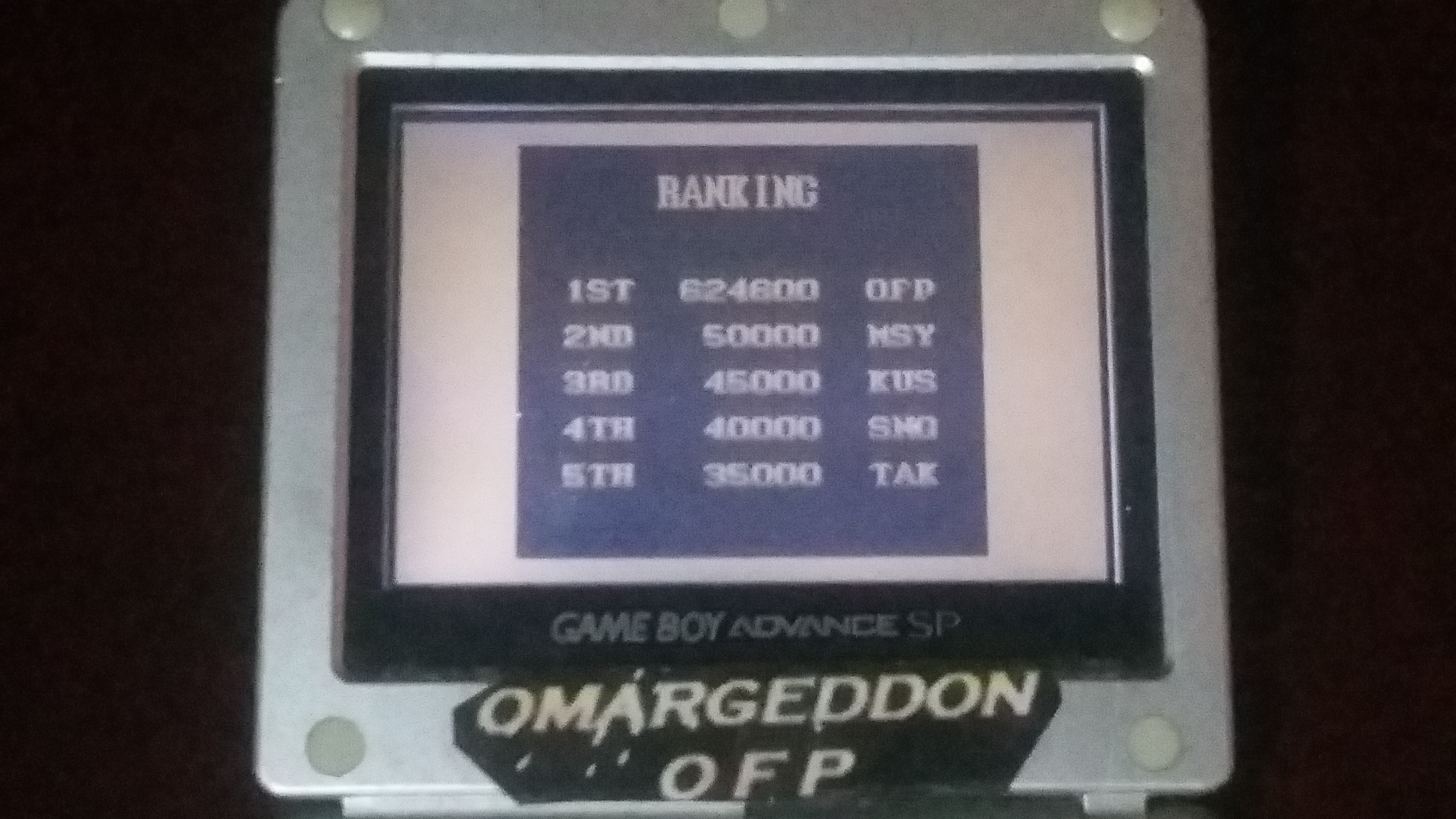omargeddon: Street Fighter II [Game Level 2] (Game Boy) 624,600 points on 2018-06-20 17:32:50
