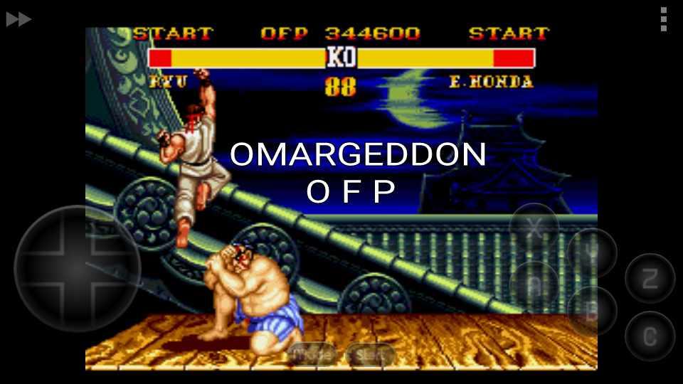 omargeddon: Street Fighter II (Sega Genesis / MegaDrive Emulated) 344,600 points on 2016-11-25 16:00:34