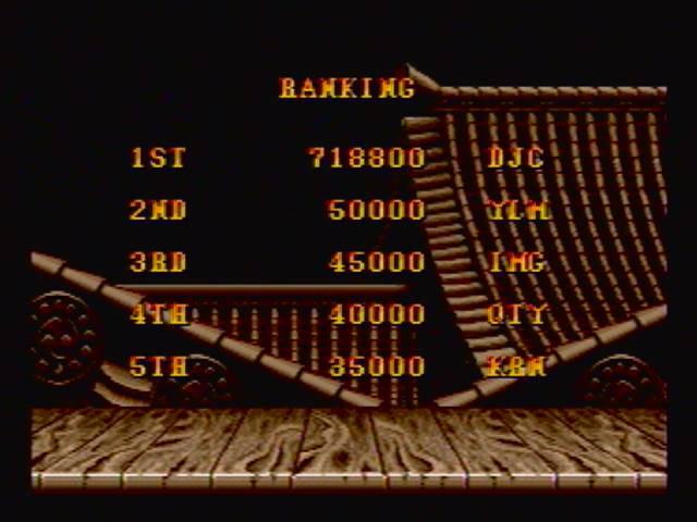 derek: Street Fighter II