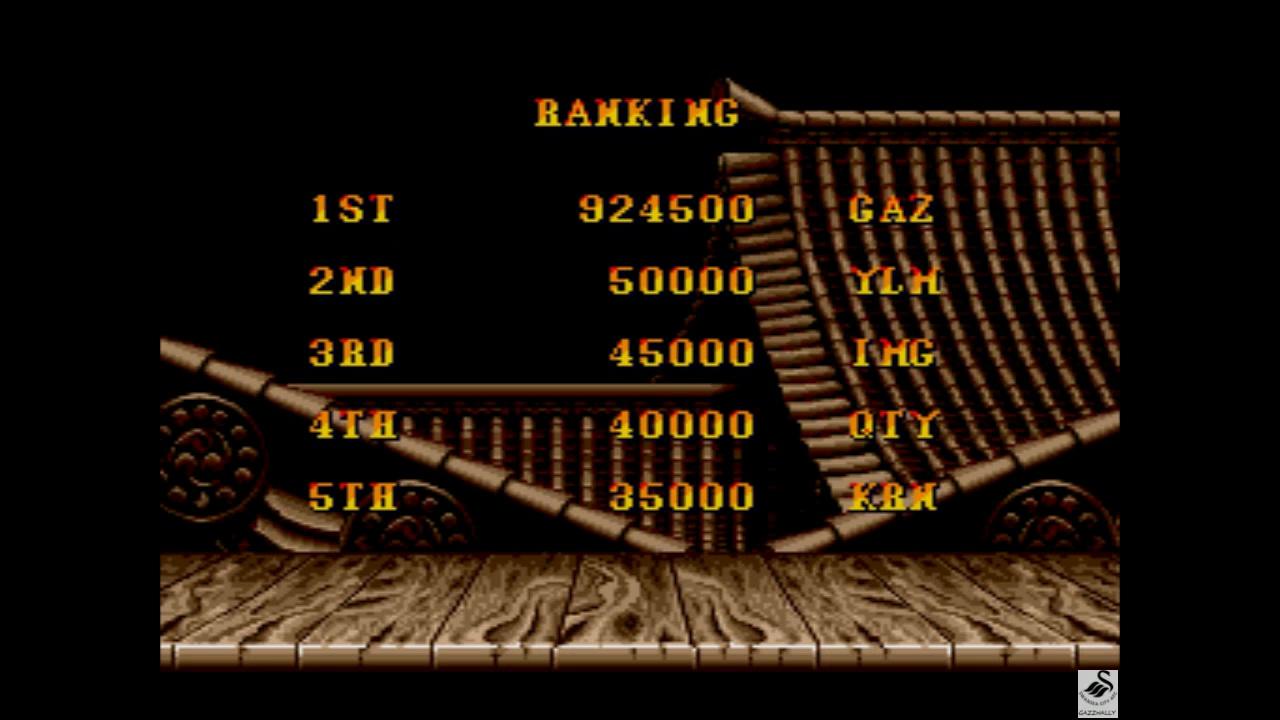 gazzhally: Street Fighter II