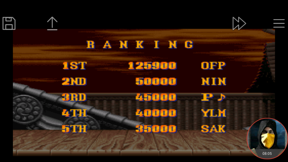 omargeddon: Street Fighter II: The World Warrior [Difficulty 2] (SNES/Super Famicom Emulated) 125,900 points on 2018-04-27 16:19:06