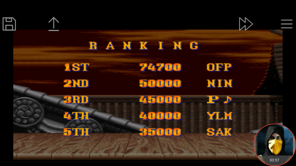 omargeddon: Street Fighter II: The World Warrior [Difficulty 3] (SNES/Super Famicom Emulated) 74,700 points on 2018-04-29 23:34:24
