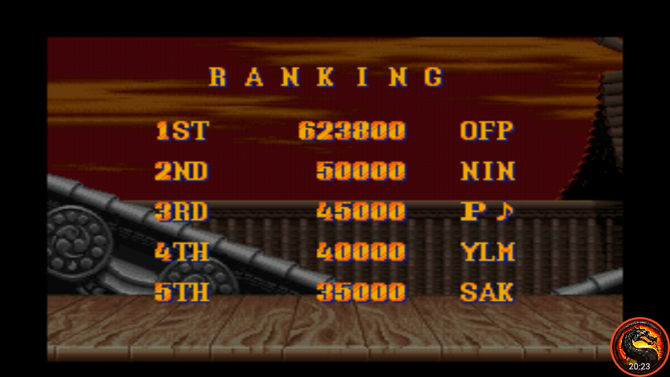 omargeddon: Street Fighter II: The World Warrior [Difficulty 3] (SNES/Super Famicom Emulated) 623,800 points on 2020-08-17 12:40:29