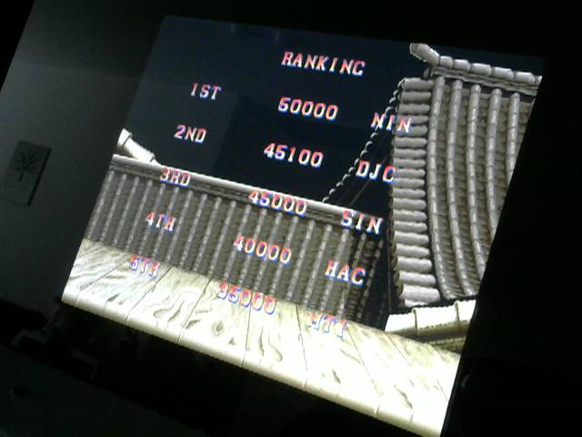 Street Fighter II: The World Warrior 45,100 points