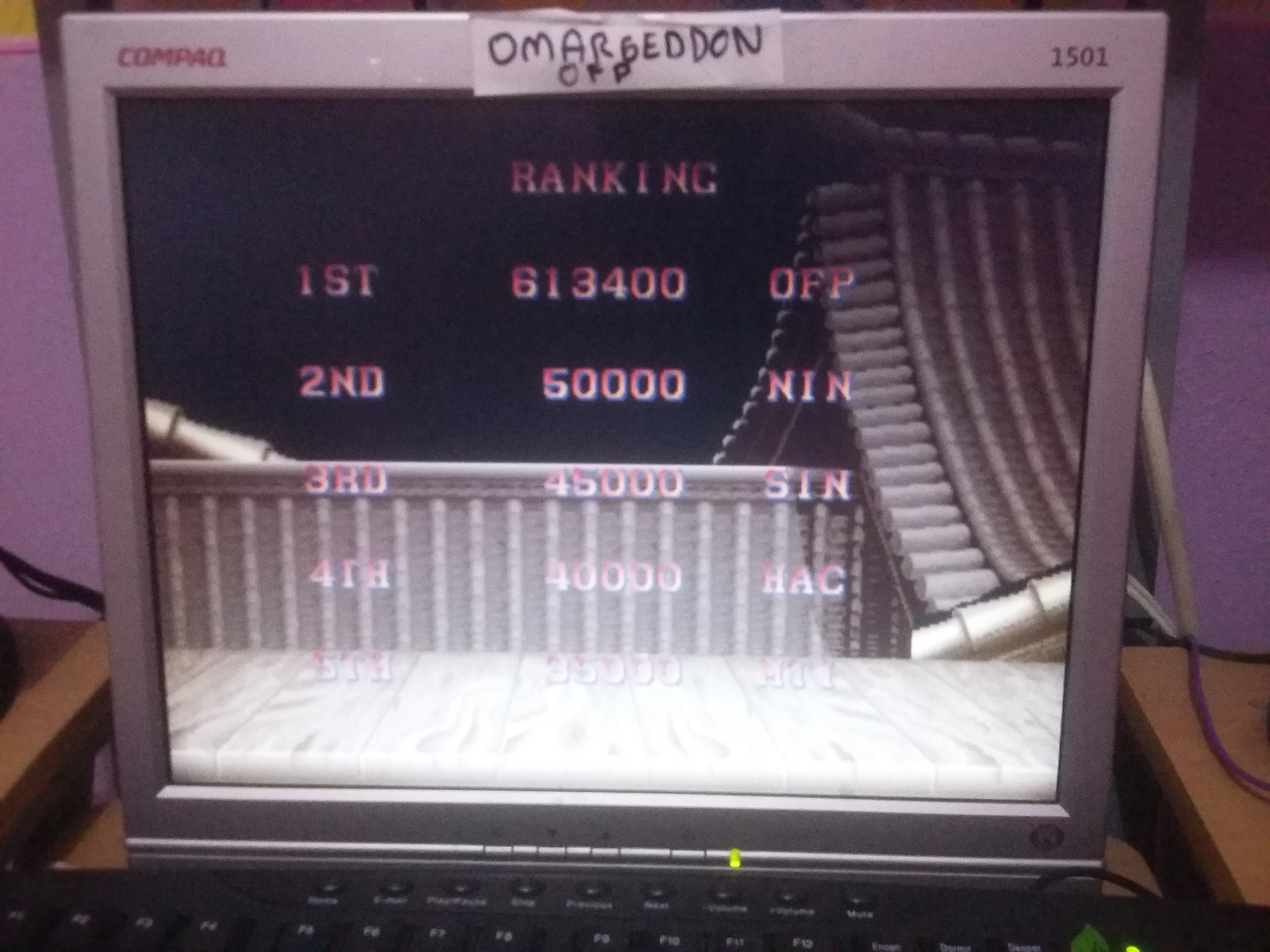 Street Fighter II: The World Warrior [sf2] 613,400 points