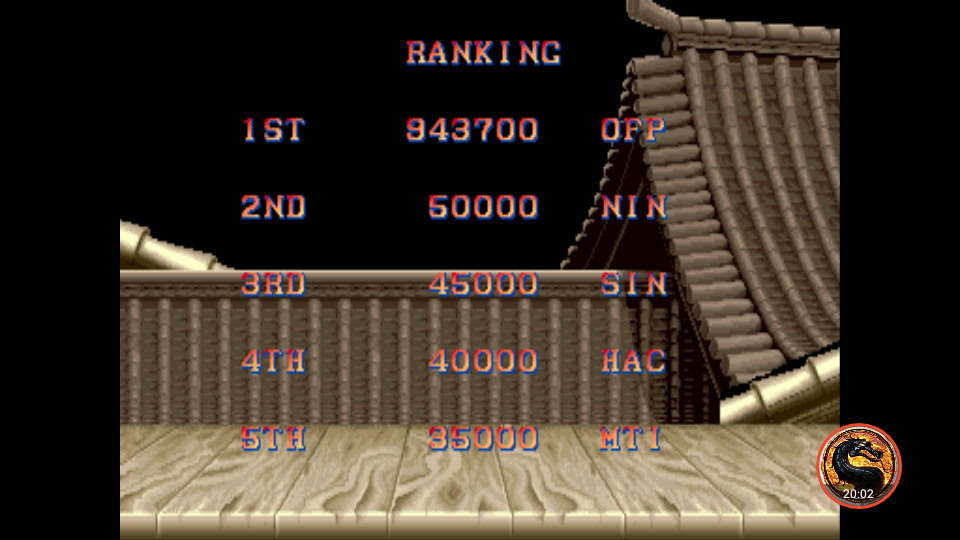 omargeddon: Street Fighter II: The World Warrior [sf2] (Arcade Emulated / M.A.M.E.) 943,700 points on 2018-11-22 19:30:59