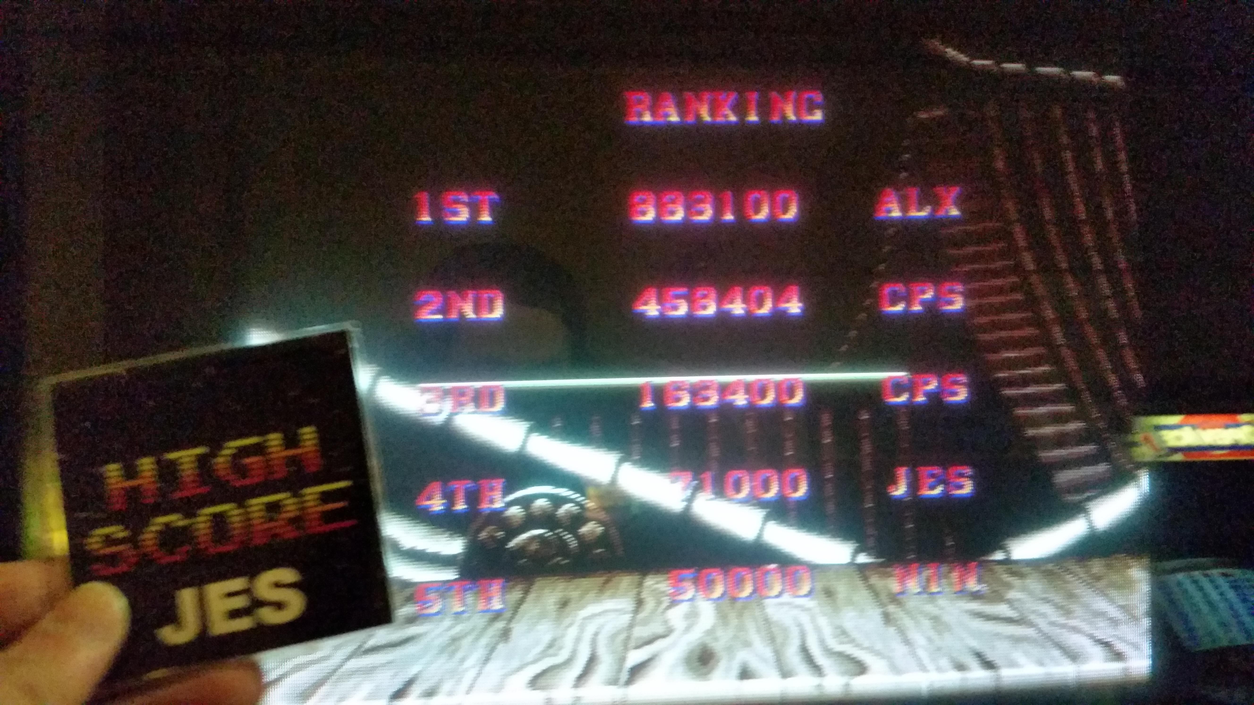 Street Fighter II Turbo: Hyper Fighting 71,000 points