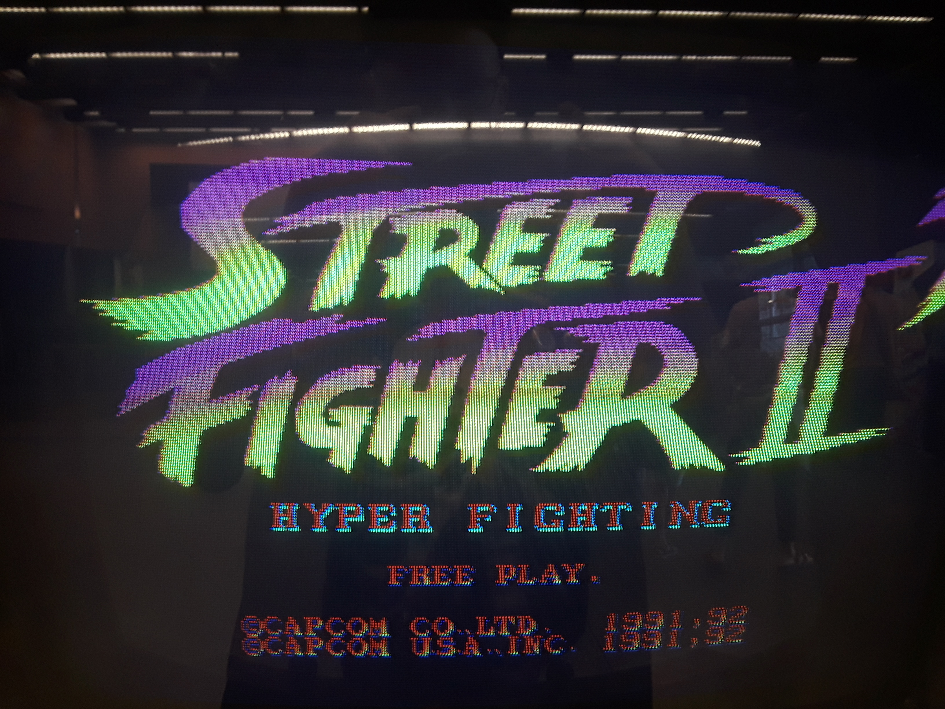 Street Fighter II Turbo: Hyper Fighting 76,500 points
