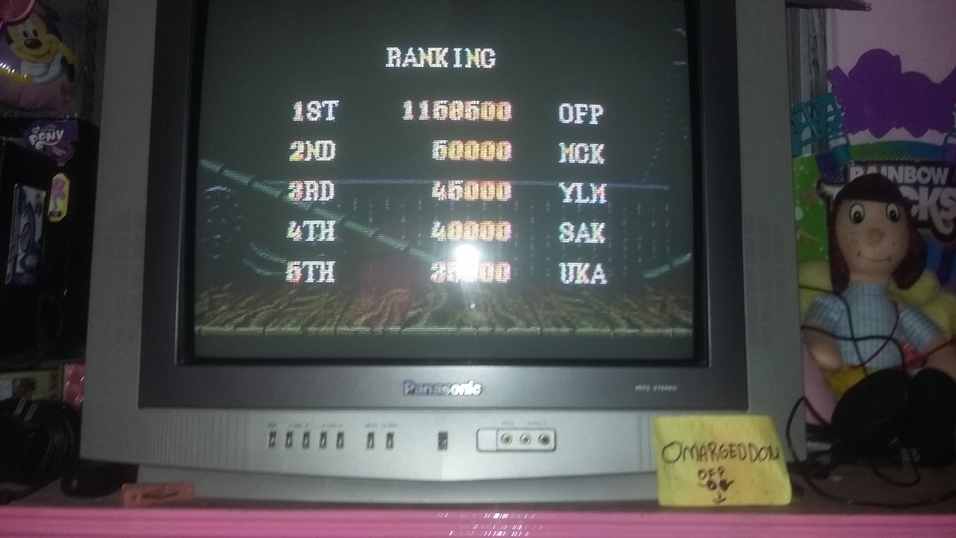 Street Fighter II Turbo: Hyper Fighting [Normal / Difficulty 1] 1,158,500 points
