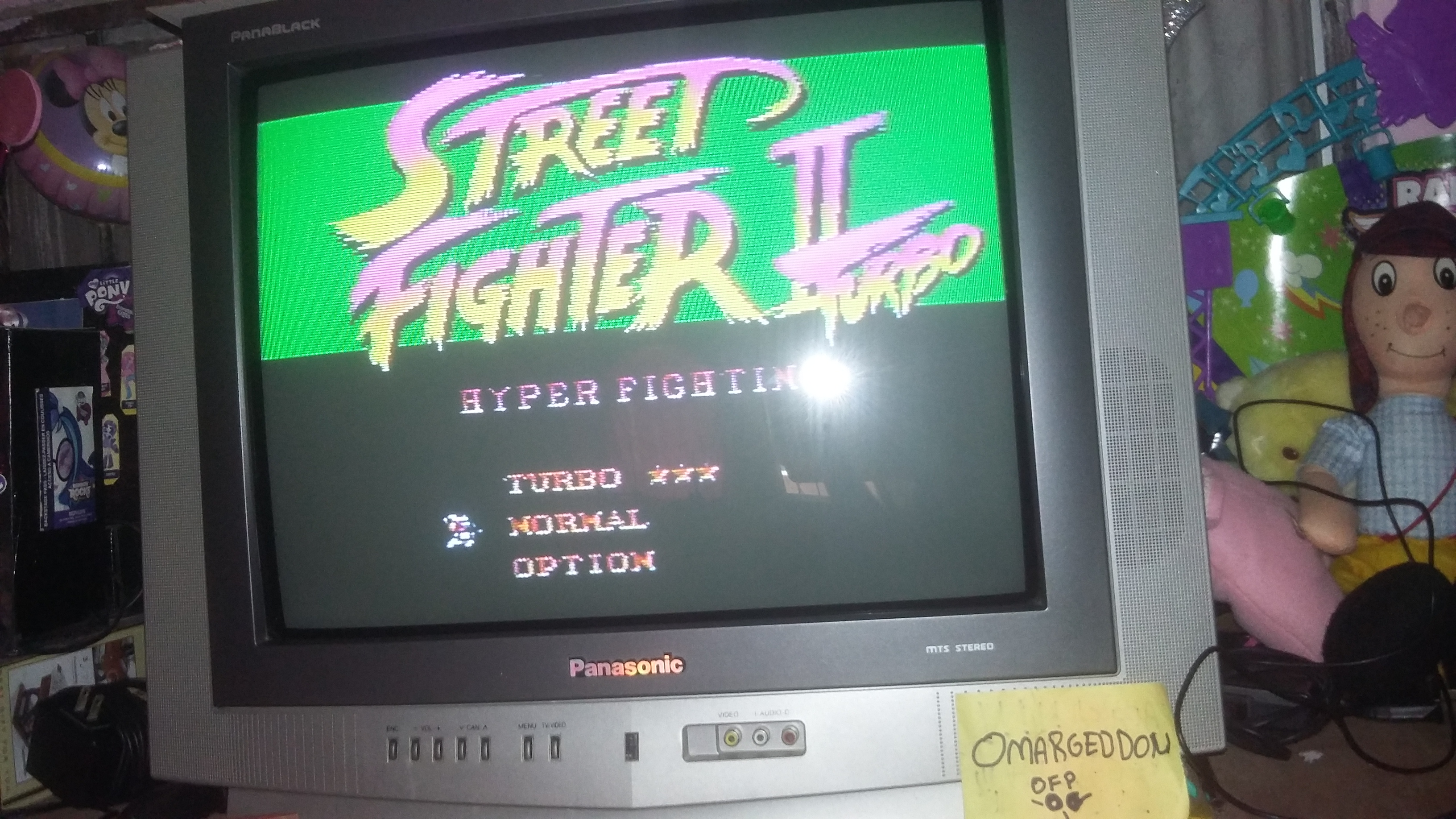 omargeddon: Street Fighter II Turbo: Hyper Fighting [Normal / Difficulty 1] (SNES/Super Famicom) 1,158,500 points on 2016-12-17 14:17:41