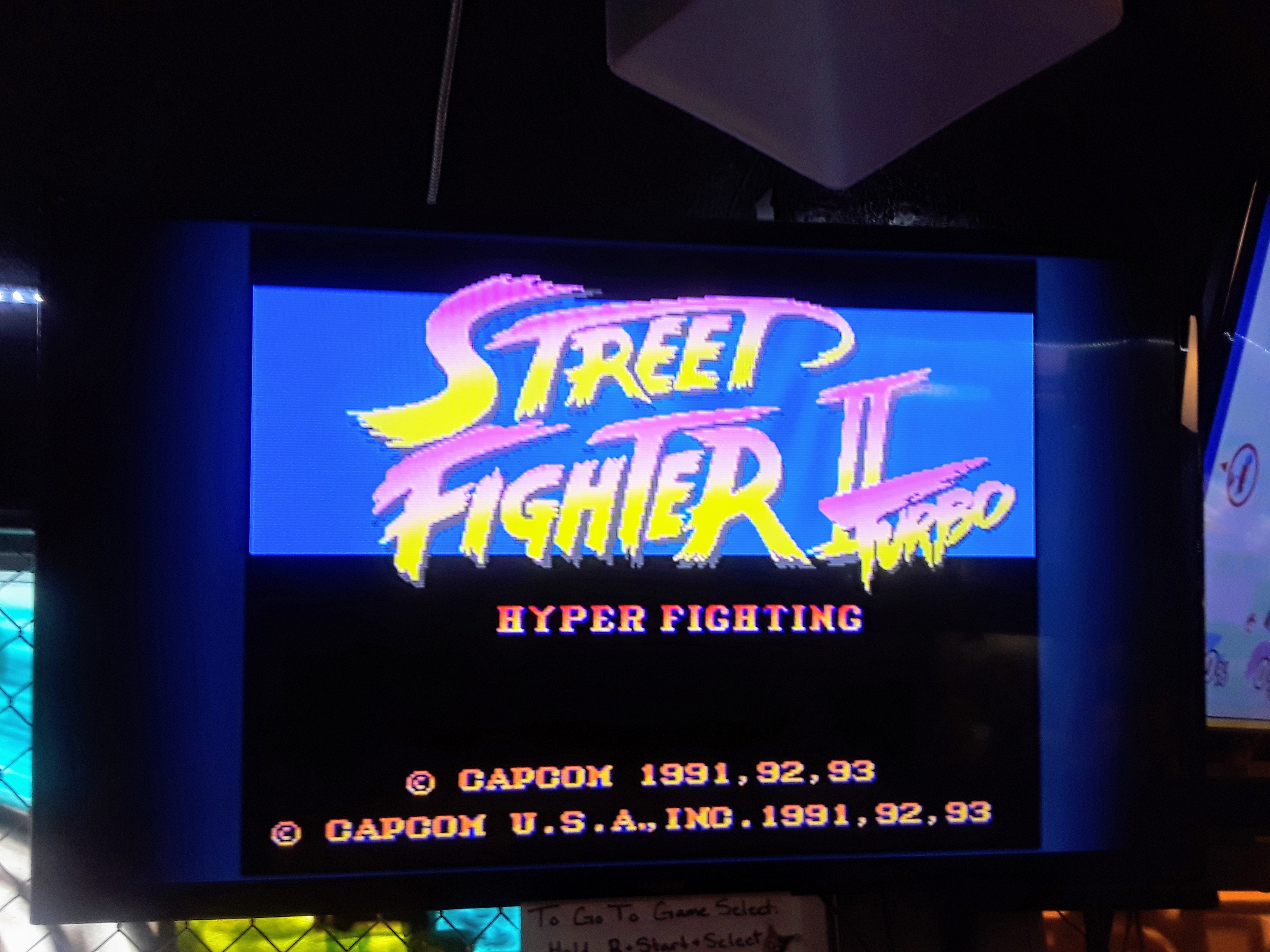 JML101582: Street Fighter II Turbo: Hyper Fighting [Normal / Difficulty 1] (SNES/Super Famicom Emulated) 517,680 points on 2018-10-06 17:42:59