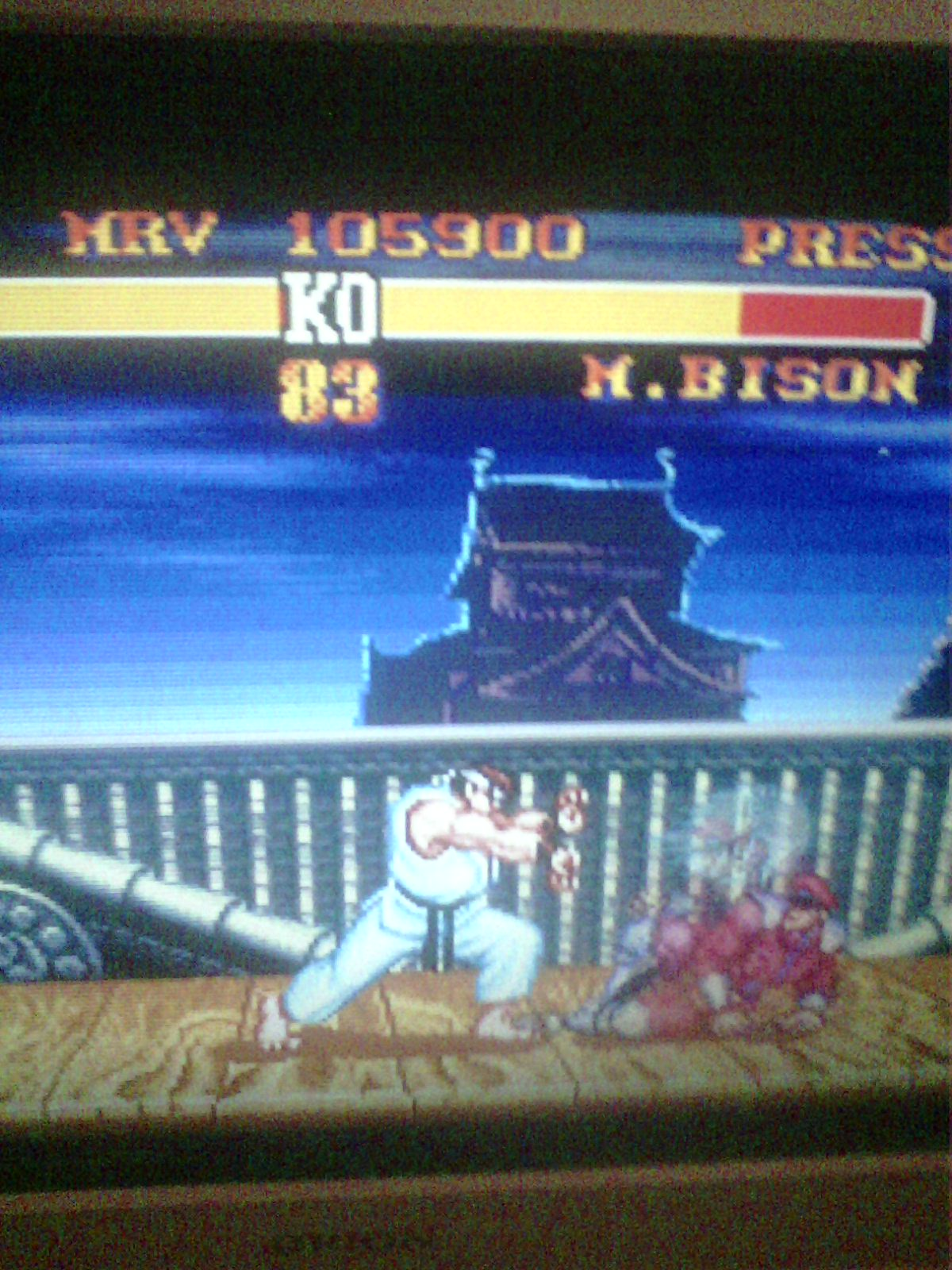 Street Fighter II Turbo: Hyper Fighting [Normal / Difficulty 1] 105,900 points