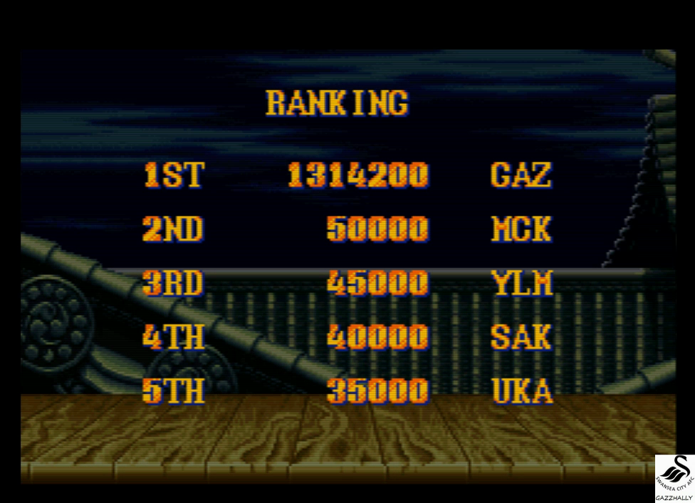 gazzhally: Street Fighter II Turbo: Hyper Fighting [Normal / Difficulty 2] (SNES/Super Famicom Emulated) 1,314,200 points on 2017-03-21 15:06:56