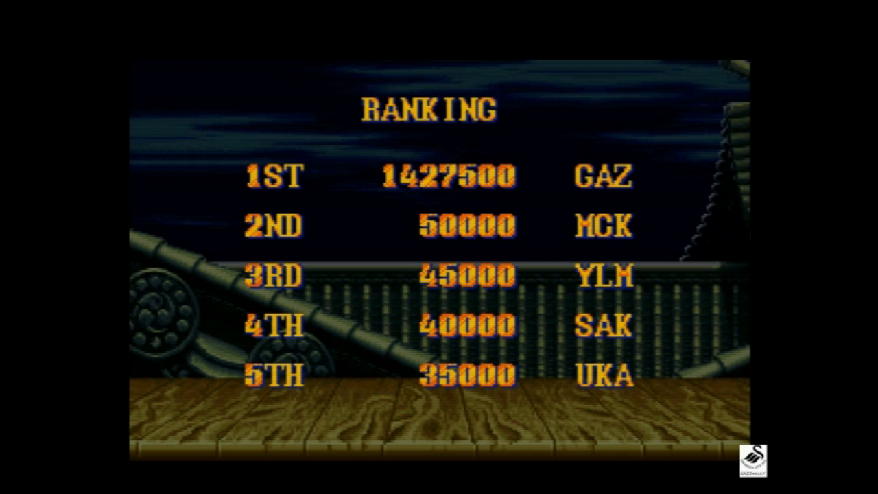 Street Fighter II Turbo: Hyper Fighting [Normal / Difficulty 2] 1,427,500 points