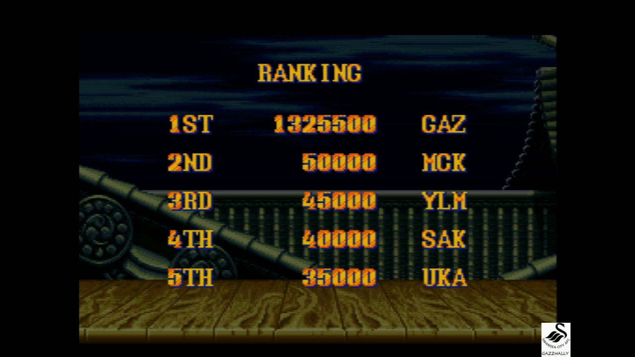 gazzhally: Street Fighter II Turbo: Hyper Fighting [Normal / Difficulty 3] (SNES/Super Famicom Emulated) 1,325,500 points on 2017-10-03 14:42:28