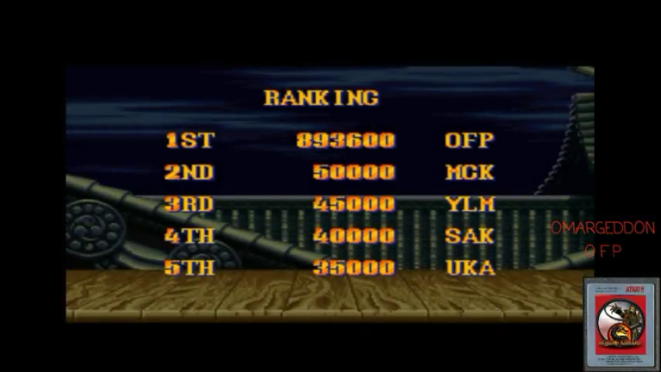 omargeddon: Street Fighter II Turbo: Hyper Fighting [Normal / Difficulty 4] (SNES/Super Famicom Emulated) 893,600 points on 2017-05-17 19:24:07
