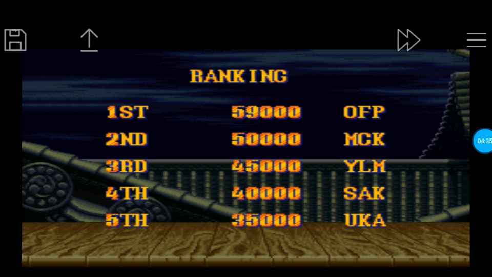 omargeddon: Street Fighter II Turbo: Hyper Fighting [Normal / Difficulty 5] (SNES/Super Famicom Emulated) 59,000 points on 2018-06-24 12:24:21