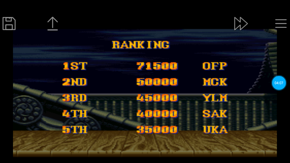 omargeddon: Street Fighter II Turbo: Hyper Fighting [Normal / Difficulty 7] (SNES/Super Famicom Emulated) 71,500 points on 2018-06-24 12:25:49