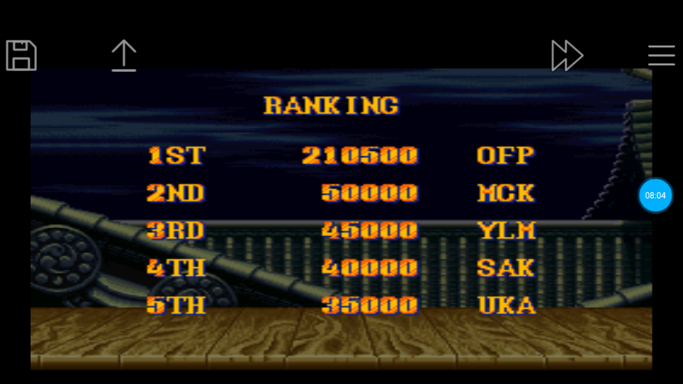 omargeddon: Street Fighter II Turbo: Hyper Fighting [Normal / Difficulty 8] (SNES/Super Famicom Emulated) 210,500 points on 2018-06-24 12:26:21