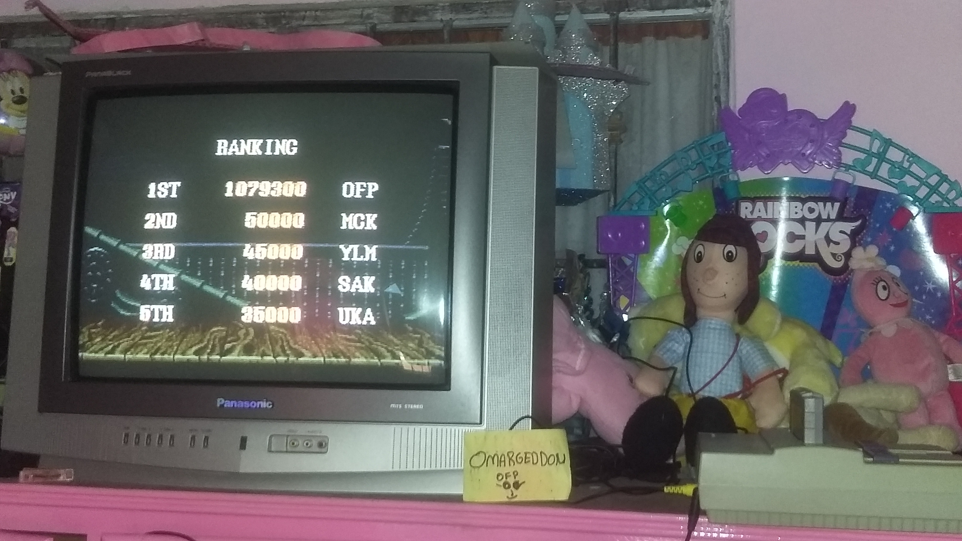 Street Fighter II Turbo: Hyper Fighting [Turbo / Difficulty 1] 1,079,300 points