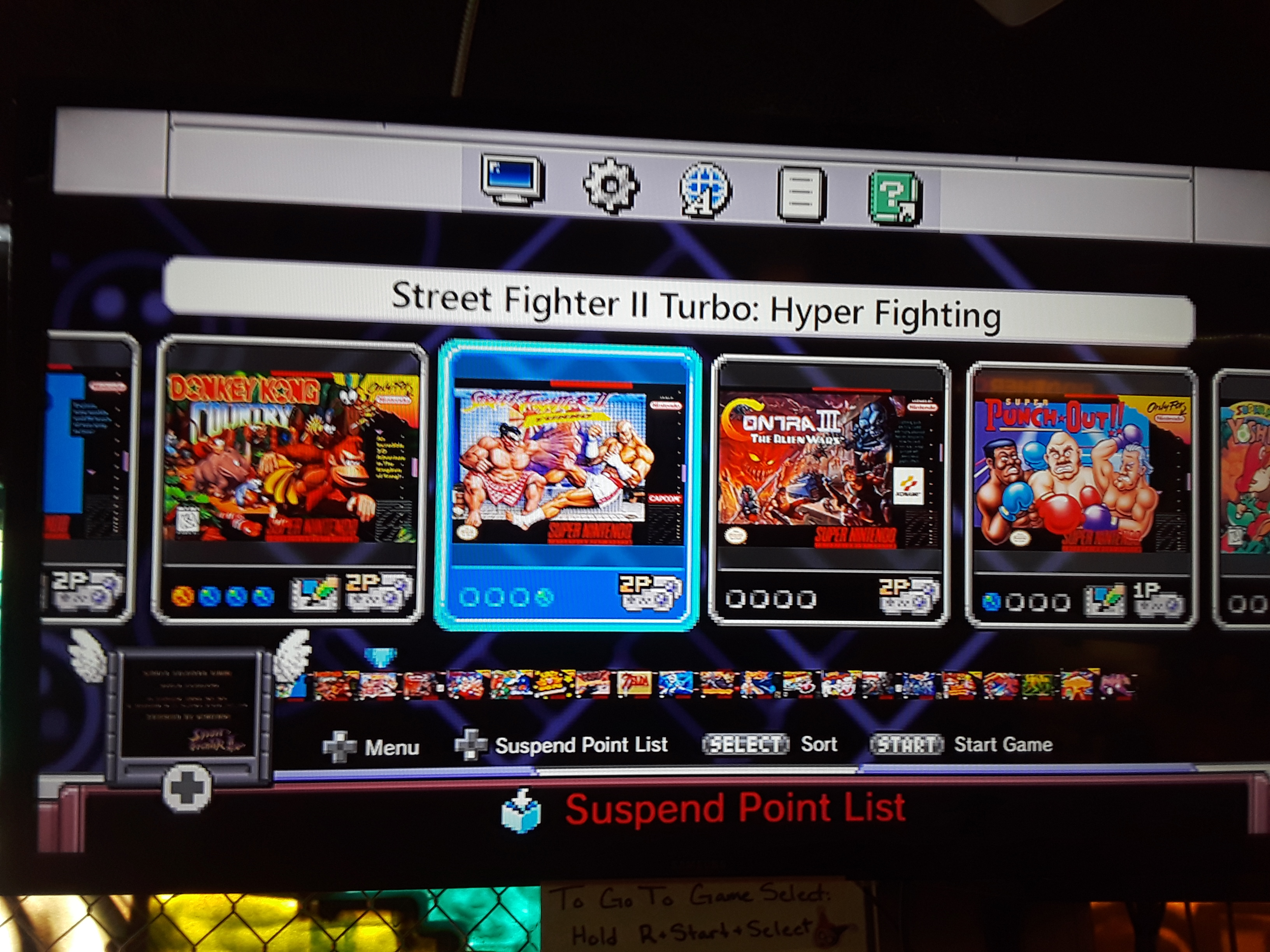 Street Fighter II Turbo: Hyper Fighting [Turbo / Difficulty 1] 62,000 points