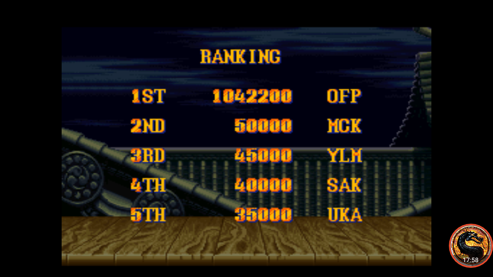 omargeddon: Street Fighter II Turbo: Hyper Fighting [Turbo / Difficulty 1] (SNES/Super Famicom Emulated) 1,042,200 points on 2019-04-07 19:59:21
