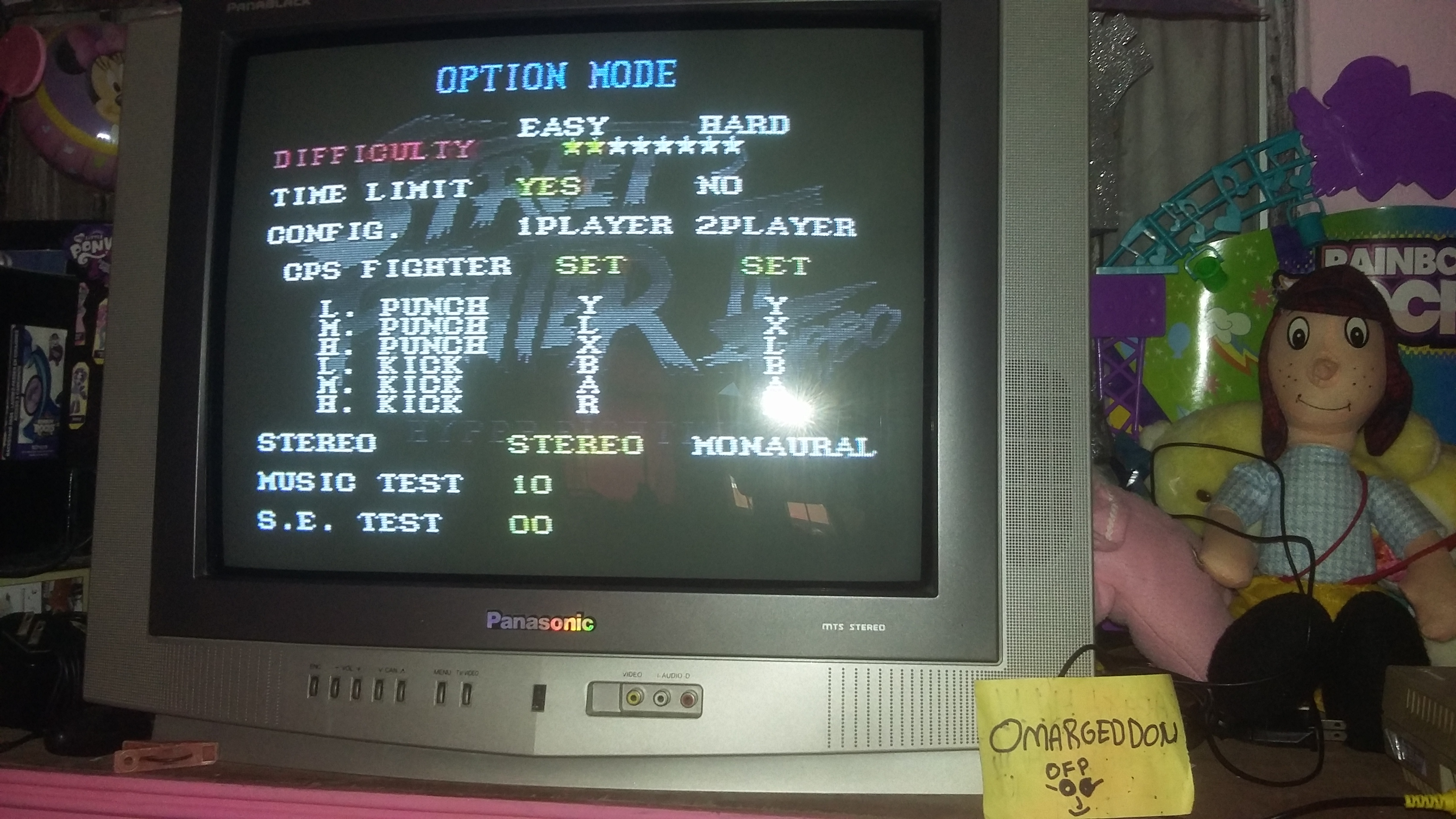 Street Fighter II Turbo: Hyper Fighting [Turbo / Difficulty 2] 853,000 points