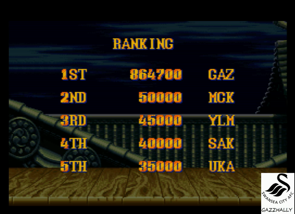 gazzhally: Street Fighter II Turbo: Hyper Fighting [Turbo / Difficulty 4] (SNES/Super Famicom Emulated) 864,700 points on 2017-01-28 14:45:14