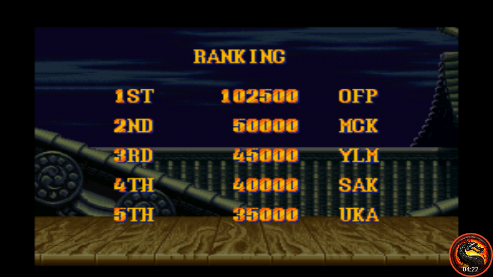 omargeddon: Street Fighter II Turbo: Hyper Fighting [Turbo / Difficulty 6] (SNES/Super Famicom Emulated) 102,500 points on 2020-08-19 13:37:46