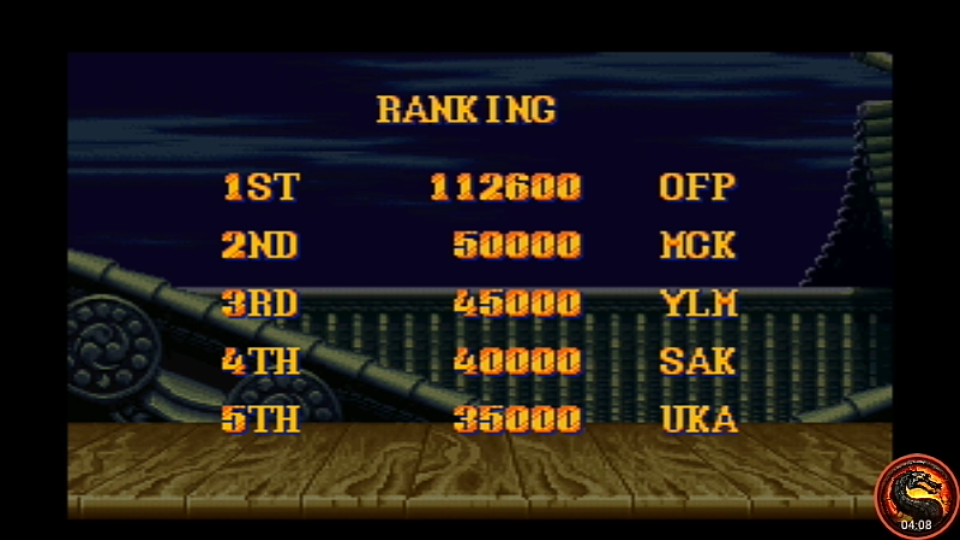 omargeddon: Street Fighter II Turbo: Hyper Fighting [Turbo / Difficulty 7] (SNES/Super Famicom Emulated) 112,600 points on 2020-08-19 13:38:57