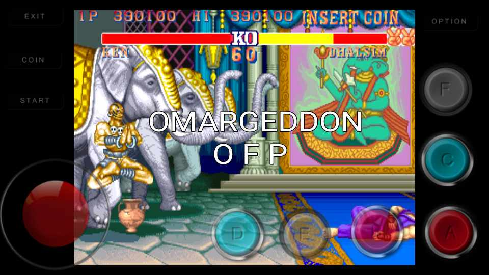 omargeddon: Street Fighter II Turbo: Hyper Fighting [sf2hfj] (Arcade Emulated / M.A.M.E.) 390,100 points on 2016-11-30 23:58:20