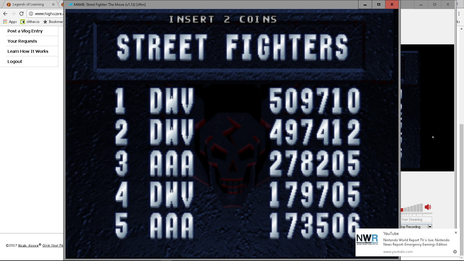 Street Fighter: The Movie [sftm] 497,412 points