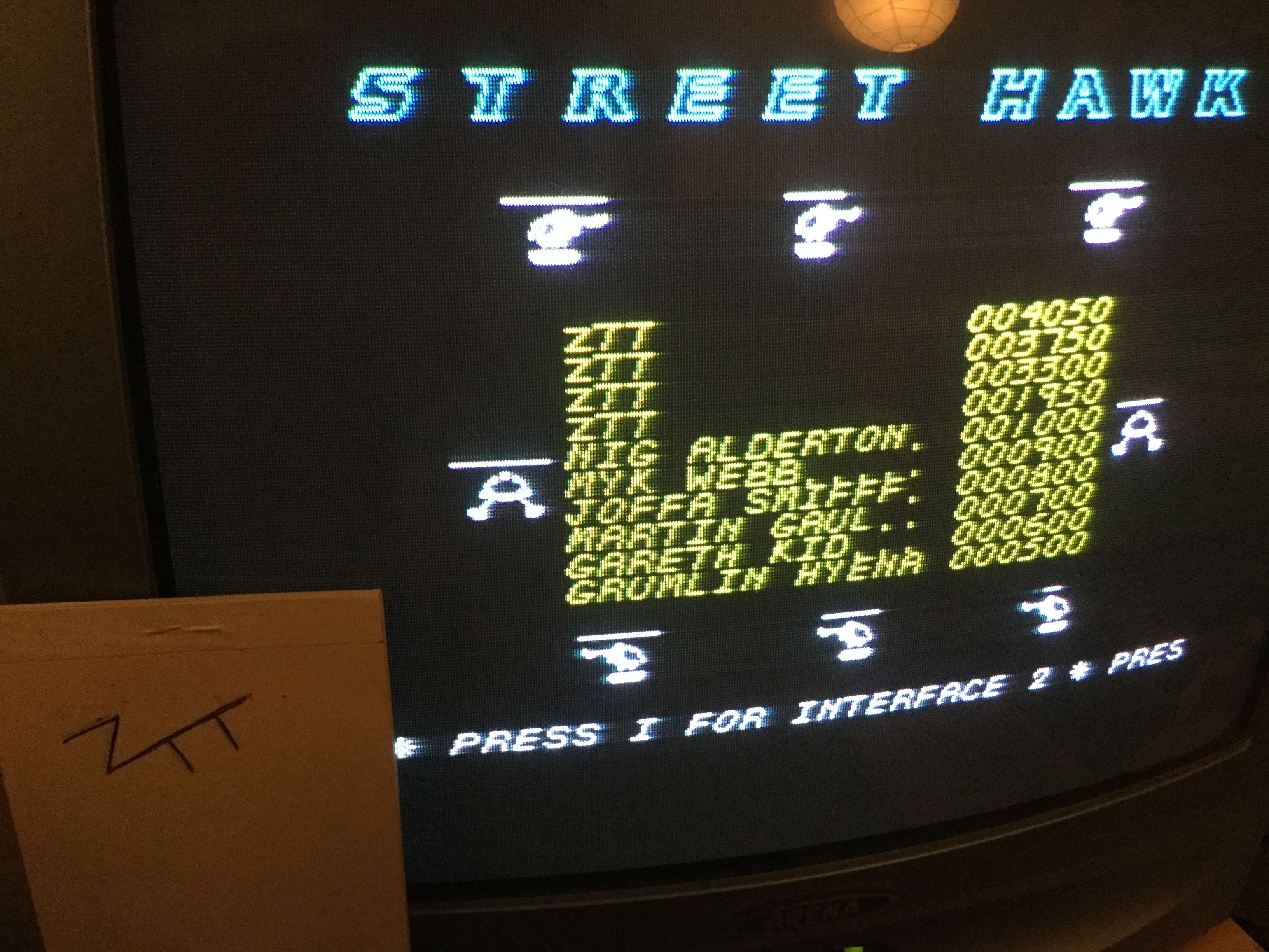 Frankie: Street Hawk - Subscribers Edition (ZX Spectrum) 4,050 points on 2019-02-28 12:17:47