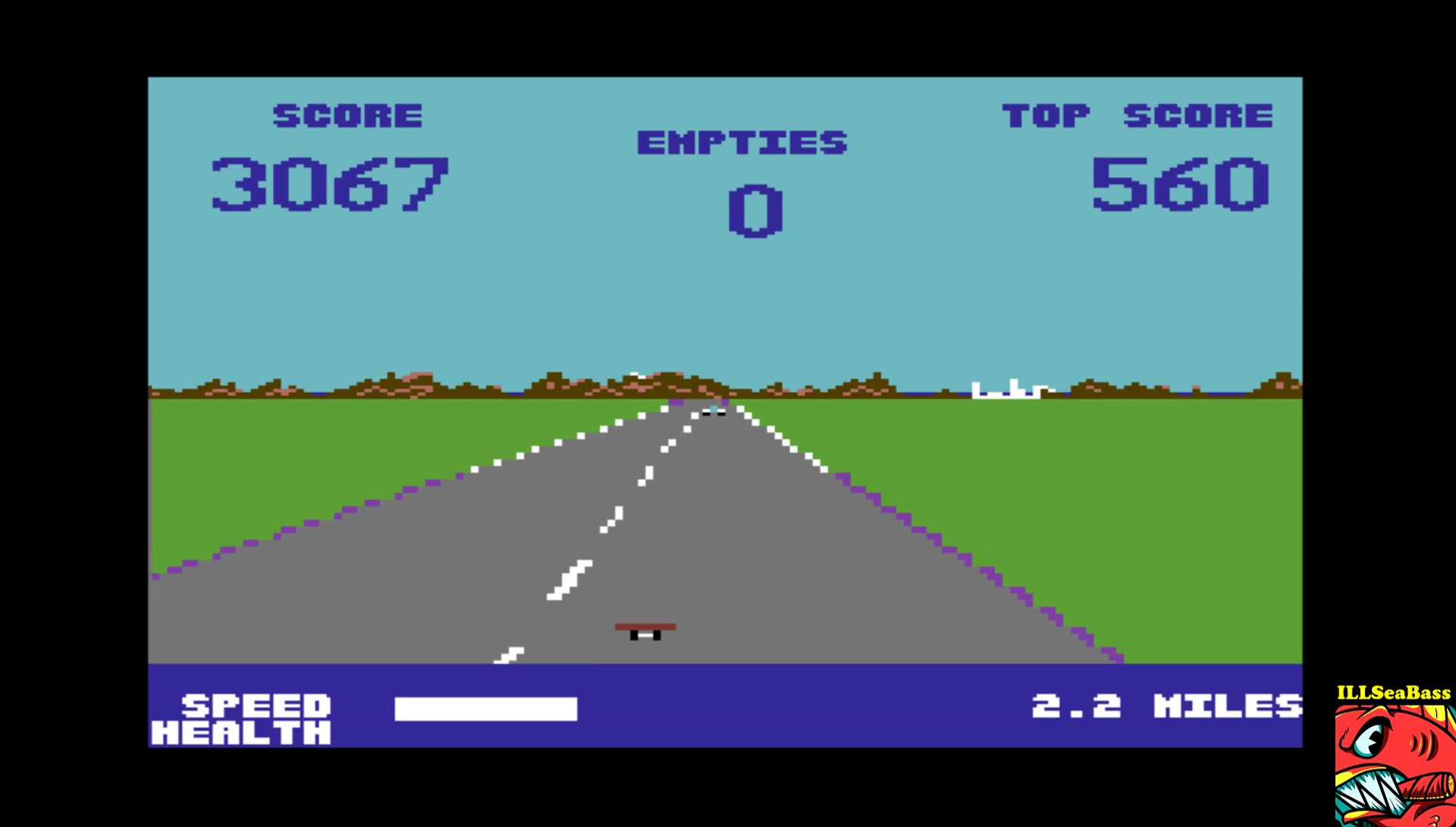 ILLSeaBass: Street Surfer (Commodore 64 Emulated) 3,067 points on 2017-04-11 00:29:31