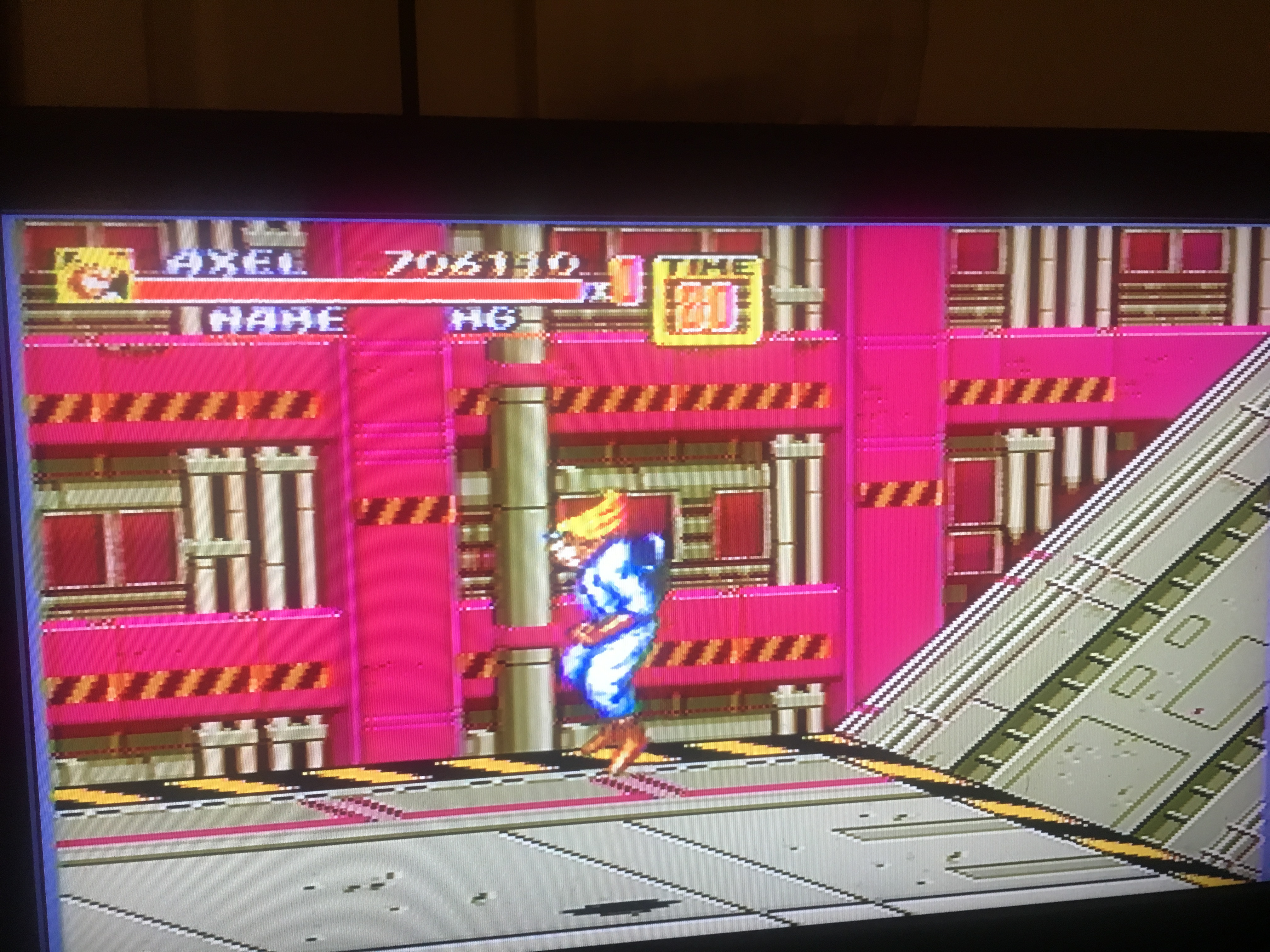 Streets Of Rage 2 [Hardest] 706,110 points