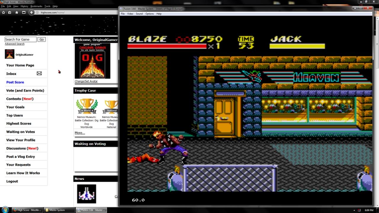 OriginalGamer: Streets of Rage 2 [Normal] (Sega Master System Emulated) 8,750 points on 2018-02-19 18:31:42