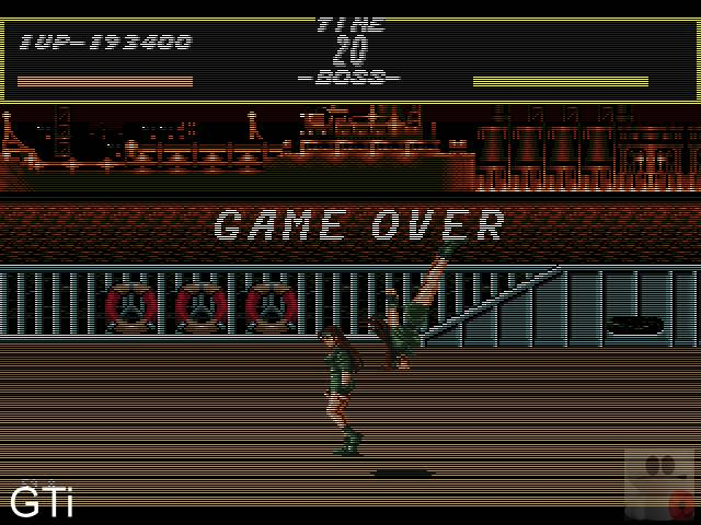 Streets of Rage [Easy] 193,400 points