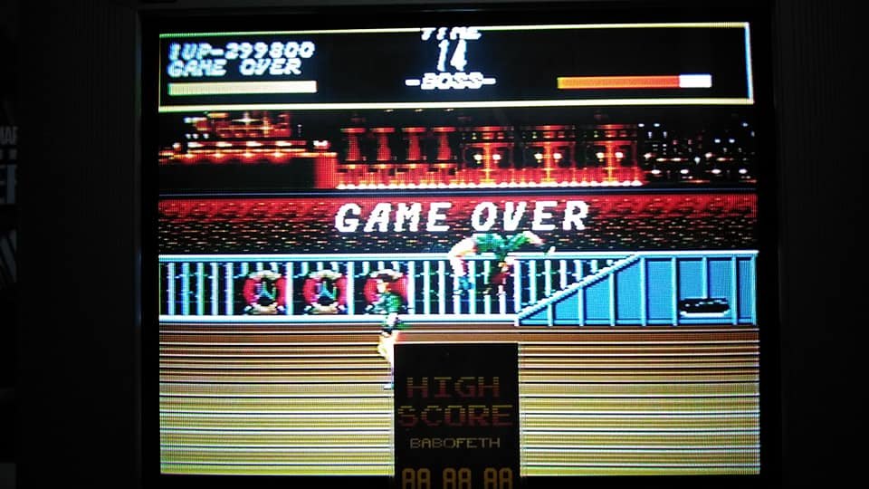 Streets of Rage 299,800 points