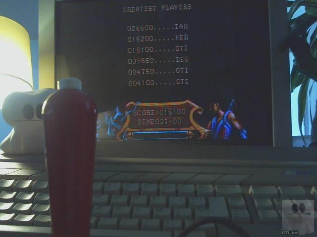 GTibel: Strider (Atari ST) 15,100 points on 2019-11-14 01:55:17