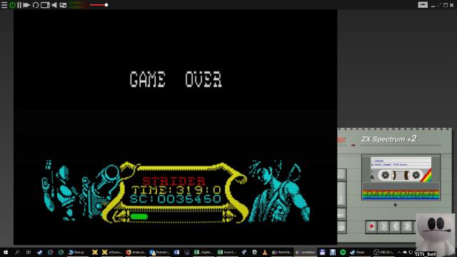 GTibel: Strider (ZX Spectrum Emulated) 35,450 points on 2019-01-28 07:38:30