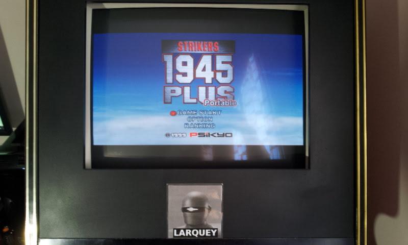Larquey: Strikers 1945 Plus (PSP Emulated) 163,300 points on 2018-04-10 13:56:20