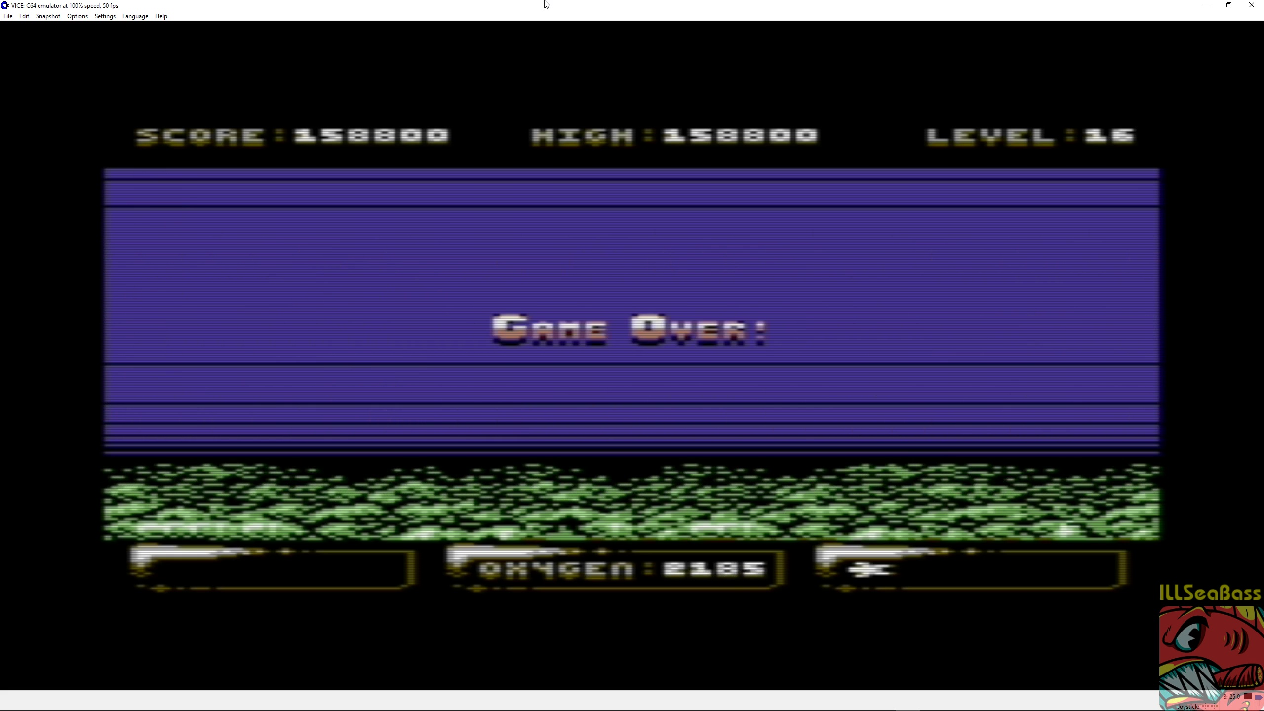 ILLSeaBass: Sub Hunter (Commodore 64 Emulated) 158,800 points on 2018-04-08 01:08:38