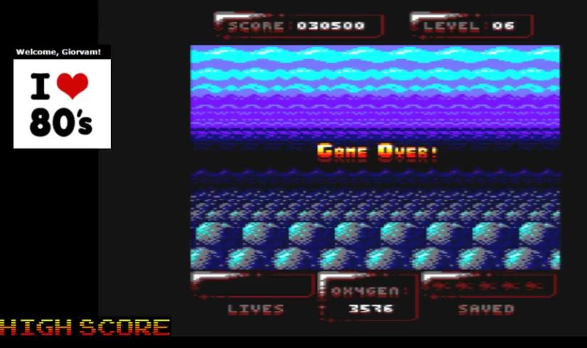 Giorvam: Sub Hunter [Psytronik Software] (Amstrad CPC Emulated) 30,500 points on 2016-12-09 11:34:11
