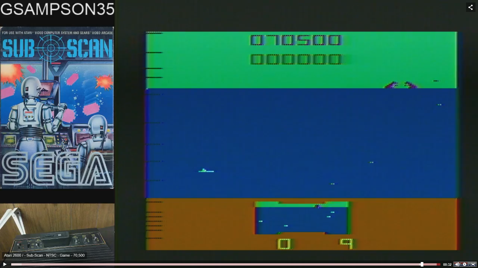 gsampson35: Sub Scan (Atari 2600 Novice/B) 70,500 points on 2019-02-10 04:29:24