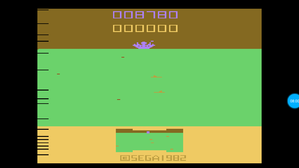 omargeddon: Sub Scan (Atari 2600 Emulated Expert/A Mode) 8,780 points on 2018-07-18 16:27:32