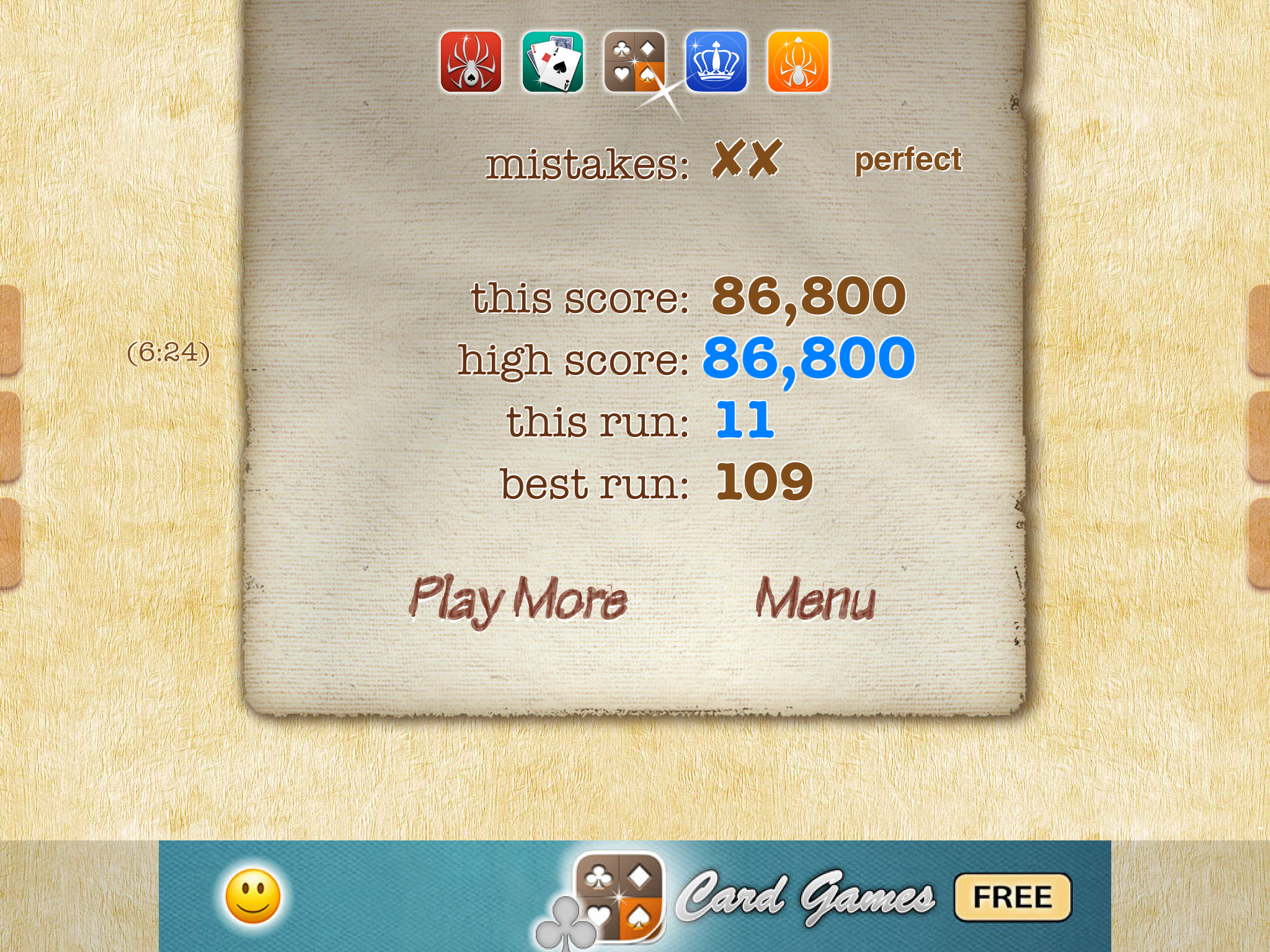 Dave: Sudoku 2 Pro [Expert] (iOS) 86,800 points on 2021-04-30 06:42:58