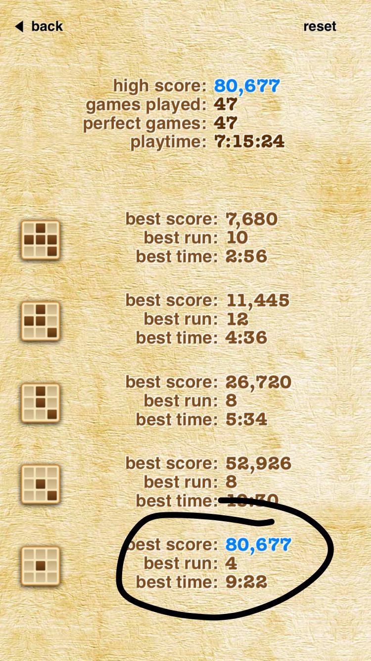 Zerm: Sudoku 2 Pro [Expert] (iOS) 80,677 points on 2019-08-12 19:19:50